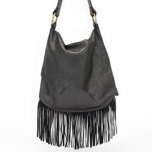 for sale footlocker White & Black Leather Fringed 'G... explore for sale zvNWvvo